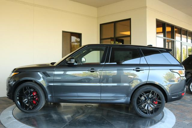 New 2017 Land Rover Range Rover Sport V8 Supercharged