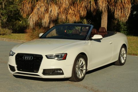Pre-Owned 2016 Audi A5 Cabriolet Premium Plus